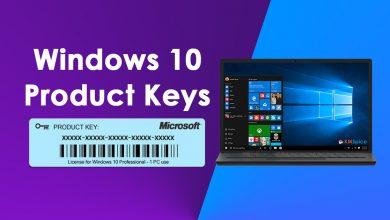 Photo of Windows 10 Product Keys For All Versions 32bit+64bit (2021)